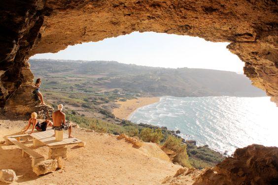 Malta - Gozo, Calypso Cave